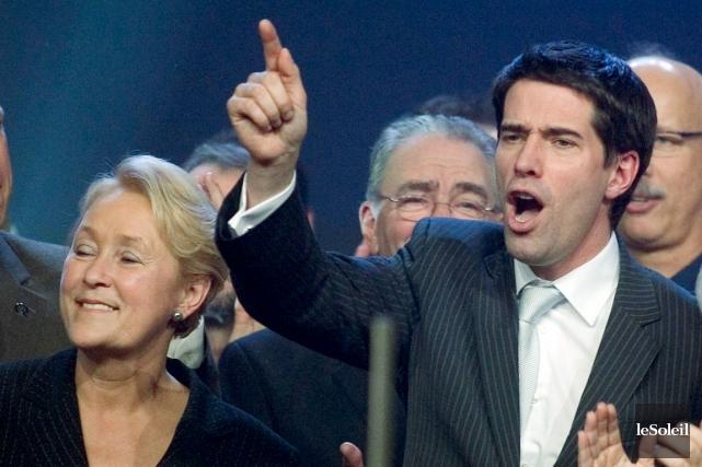 Quand André Boisclair avait été élu chef du... (Photothèque Le Soleil)