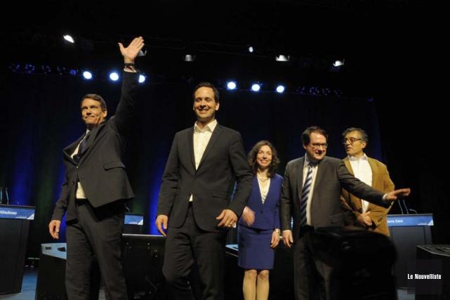 La compétition au Parti québécois a véritablement pris... (Photo: Sylvain Mayer, Le Nouvelliste)