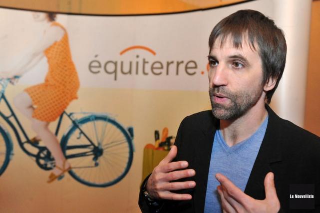 Steven Guilbeault, porte-parole d'Équiterre.... (Photo: Stéphane Lessard, Le Nouvelliste)