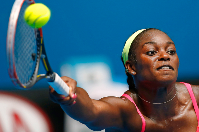 Sloane Stephens... (Photo Thomas Peter, archives Reuters)
