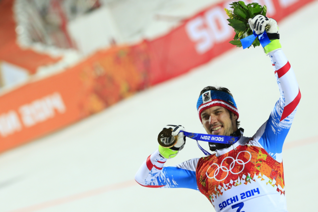 Le skieur autrichien Mario Matt a remporté la... (Photo Alexander Klein, archives AFP)