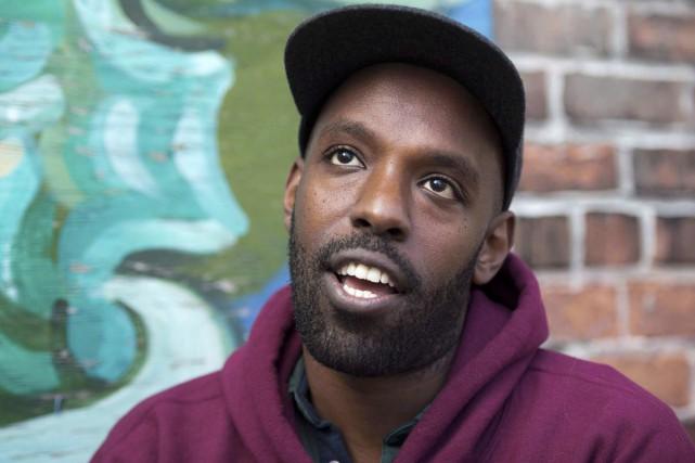 Le rappeur Shad... (Photo: La Presse Canadienne)