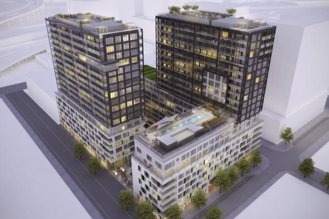 La troisime phase du complexe Lowney sur Ville,... (Illustration fournie par Prével)
