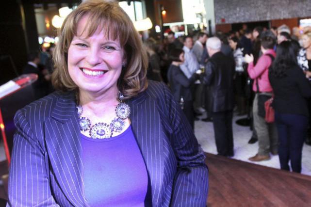 Joanne Lefebvre, pdg du RGA a dévoilé les... (Étienne Ranger, Le Droit)