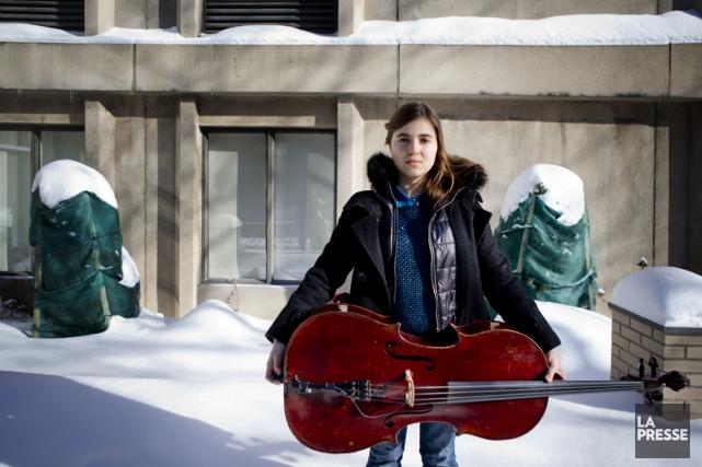 La chanteuse brésilienne Dom La Nena est de... (Photo: Marco Campanozzi, La Presse)