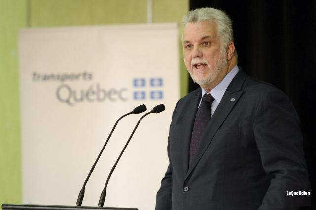 De passage à Saguenay, où Greenpeace mène une... (Photo Jeannot Lévesque, Le Quotidien)