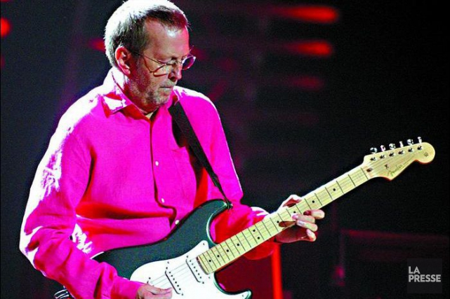 Eric Clapton... (Photo: archives La Presse)