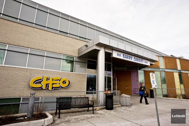 L'urgence du CHEO reçoit en moyenne 200 jeunes... (Archives, LeDroit)