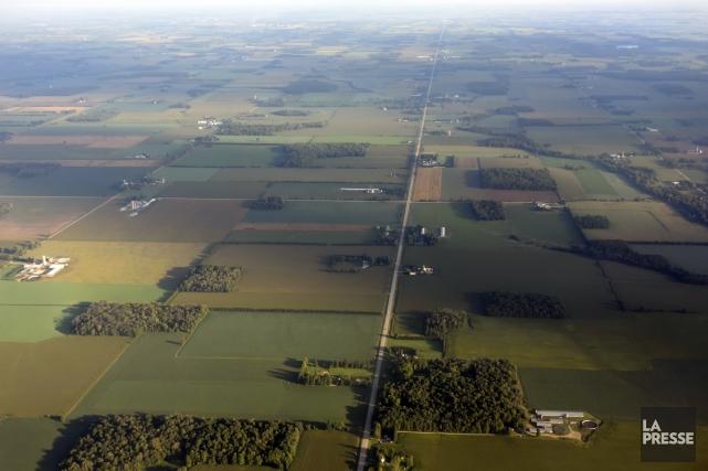 «À la retraite, plusieurs agriculteurs louent leurs terres... (Photo Bernard Brault, archives La Presse)