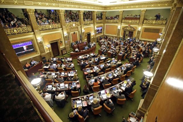 La Chambre des représentants de l'Utaha «adopté» tard... (Photo Rick Bowmer, AP)