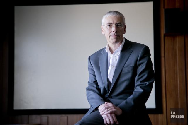 Le président de l'ONF, Claude Joli-Coeur... (PHOTO DAVID BOILY, LA PRESSE)