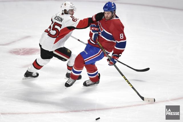 Relisez notre clavardage retraçant le match entre le Canadien et les Sénateurs... (Photo Bernard Brault, La Presse)