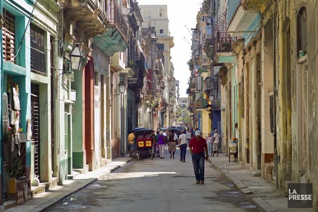 Cuba a l'un des taux de connectivités les... (PHOTO DAVID BOILY, ARCHIVES LA PRESSE)