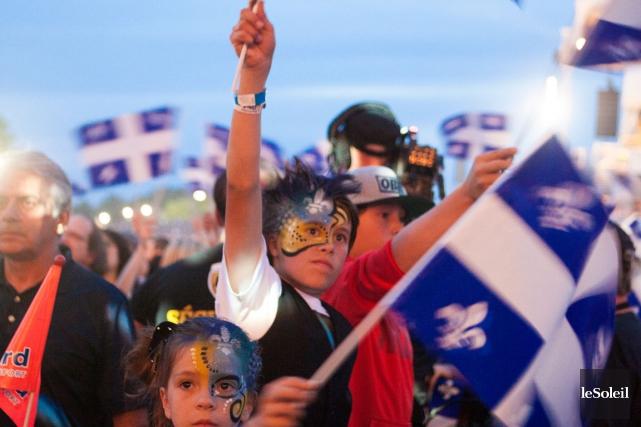 Les organisateurs des festivités de la Fête nationale... (Photothèque Le Soleil, Caroline Grégoire)