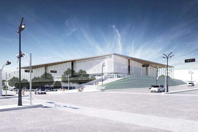 Un centre multifonctionnel à 74,4 millions $: qu'en pensez-vous? (Courtoisie)