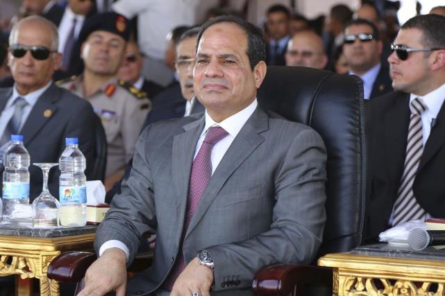 Le président égyptien Abdel Fattah al-Sissi... (PHOTO ARCHIVES REUTERS)