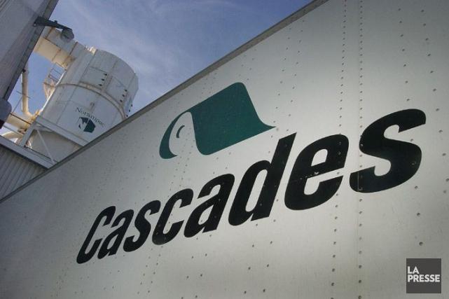 Cascades a annoncé mercredi un bénéfice de 75 millions de dollars ou 79 cents... (PHOTO ARCHIVES LA PRESSE)