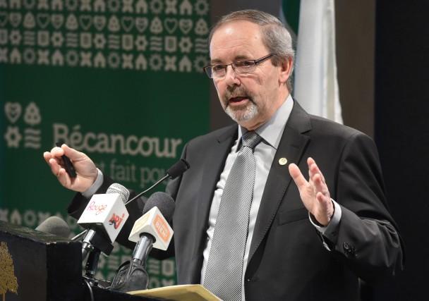 Alors que la croisade de son homologue de Saguenay contre Greenpeace survient... (Photo: François Gervais Le Nouvelliste)