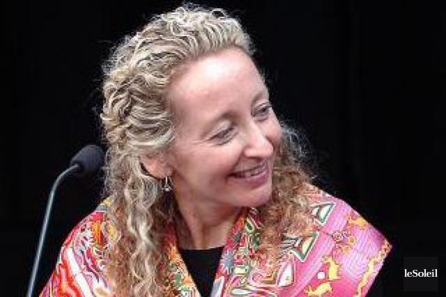 Hélène Lauzon, pdg du Conseil patronal de l'environnement... (Photothèque Le Soleil, Patrice Laroche)