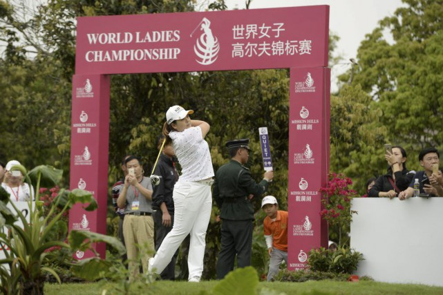 Inbee Park... (PHOTO PAUL LAKATOS, AFP)