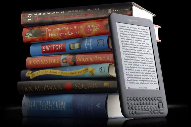 Le Kindle Unlimited, la formule d'abonnement à accès illimité de livres... (PHOTO ARCHIVES PC)