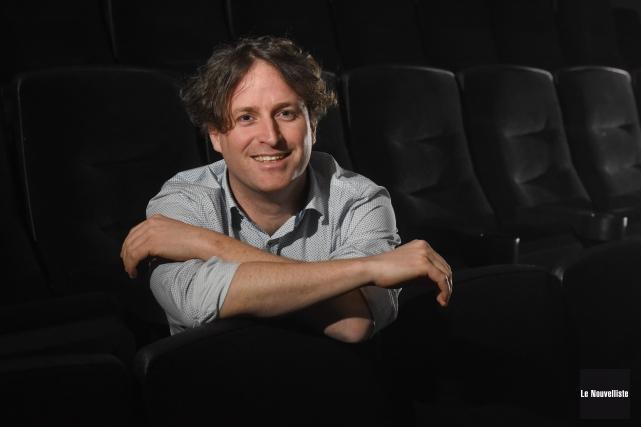 Le cinéaste de Champlain Simon Laganière profitera de... (Photo: François Gervais Le Nouvelliste)