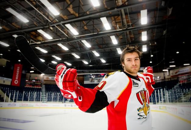 Le hockeyeur Jérémy Grégoire a eu sa mère... (ARCHIVES LA NOUVELLE)
