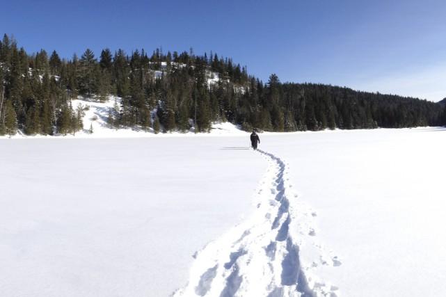 Cet hiver, le parc régional des Sept-Chutes ouvre... (Photo fournie par le parc régional des Sept-Chutes)