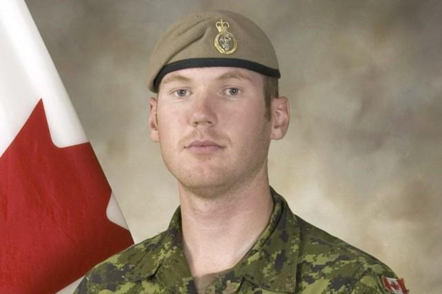 Le sergent Andrew Joseph Doironest le premier militaire... (PHOTO FOURNIE PAR L'ARMÉE CANADIENNE)