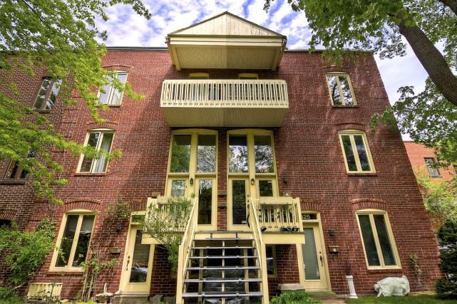 Situé tout au haut, le condo profite de... (Photos Mélanie Vallières, fournies par Profusion Immobilier)