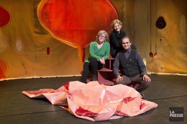 Pauline Vaillancourt et Massimo Guerrera remettent en scène... (Photo: Robert Skinner, La Presse)