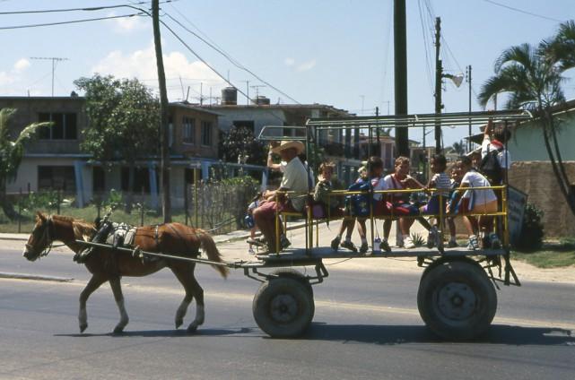 L'embargo économique imposé à Cuba par les États-Unis...