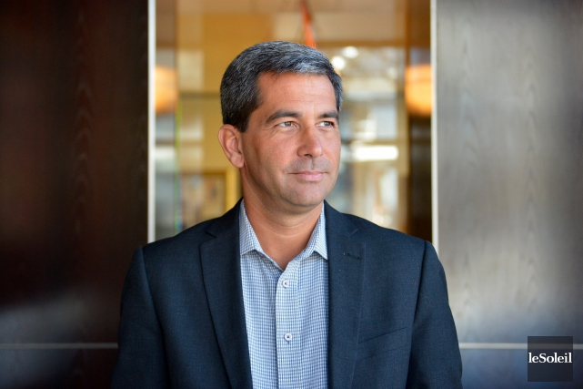 Le candidat à l'investiture du Parti conservateur dans... (Le Soleil, Yan Doublet)