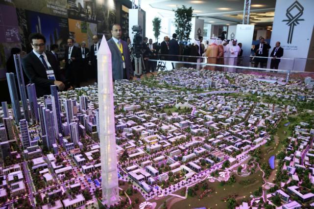 Cette nouvelle capitale sera construite sur un périmètre... (Photo Reuters)