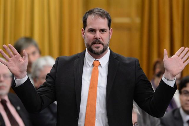 Le député du NPD Alexandre Boulericeestime que les... (PHOTO ARCHIVES LA PRESSE CANADIENNE)