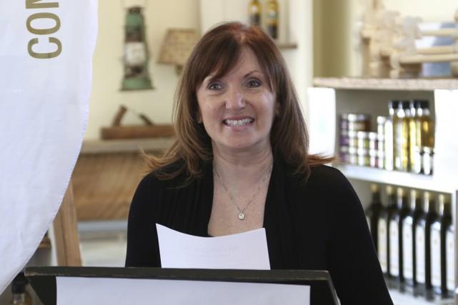 La coordonnatrice au développement commercial chez Commerce et... (photo Janick Marois)