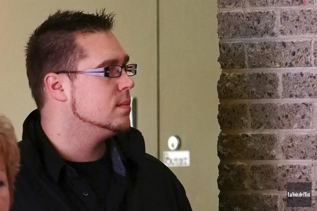 Jean Boissonneault, 31 ans, doit répondre d'accusations d'agression... (photo La Voix de l'Est)