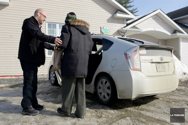 Les usagers du transport adapté à Sherbrooke ont remporté une petite victoire.... (Imacom, Frédéric Côté)