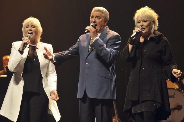 Après les trois ténors, voici les trois idoles:... ((Photo Rocket Lavoie))