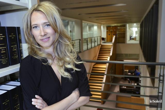 Marie-Soleil Tremblay, détentrice d'un doctorat en administration et... ((Archives Le Soleil, Jean-Marie Villeneuve))