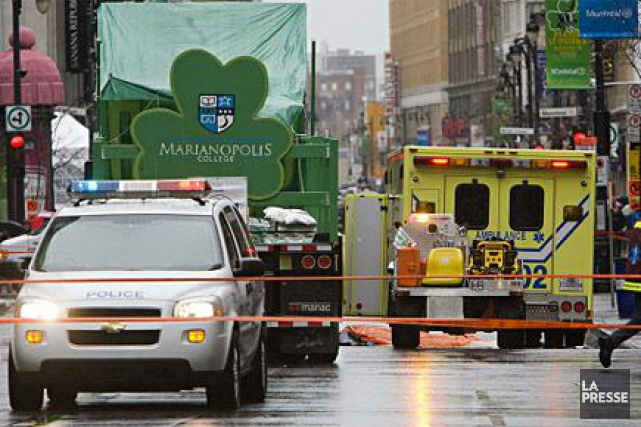 En 2010, le défilé de la Saint-Patrick avait... (François Roy, Archives La Presse)