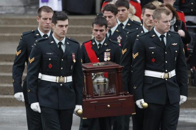 Andrew Doiron a été le premier soldat canadien... (PHOTO CHRIS WATTIE, REUTERS)