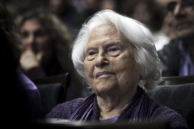 Lia van Leer... (PHOTO MENAHEM KAHANA, AFP)