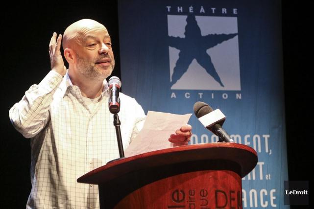 Le comédien et dramaturge Alain Doom prononcera le... (Patrick Woodbury, LeDroit)