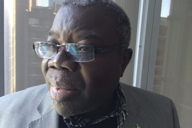 L'ambassadeur de la Sierra Leone au Canada,Bockari Stevens.... (Photo Mike Blanchfield, PC)