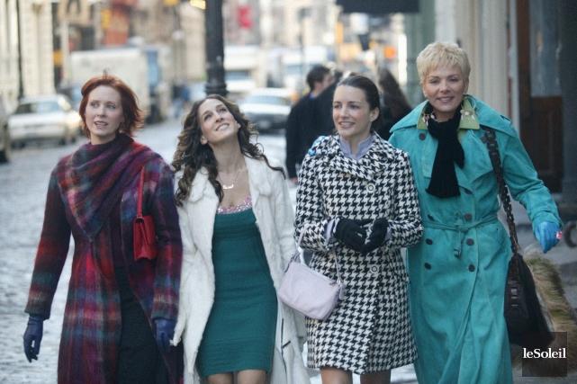 Miranda, Carrie, Charlotte et Samantha ont fait les... (Photothèque Le Soleil)