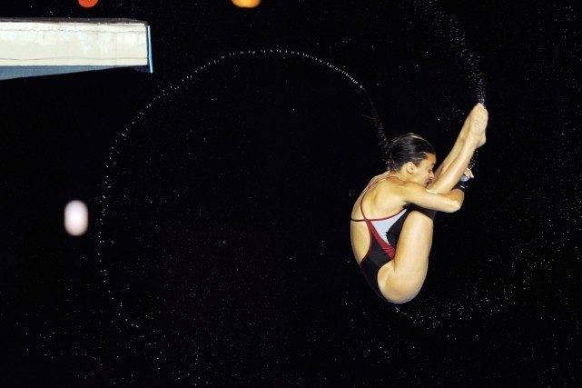Meaghan Benfeito... (PHOTO ARCHIVES REUTERS)