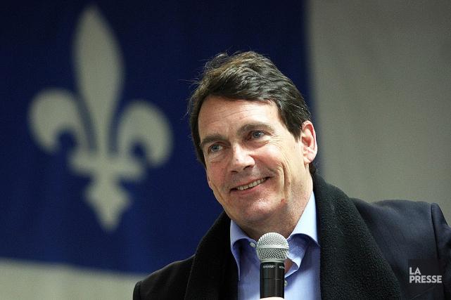 Pierre Karl Péladeau convoite ladirection du Parti québécois.... (PHOTO D'ARCHIVES)