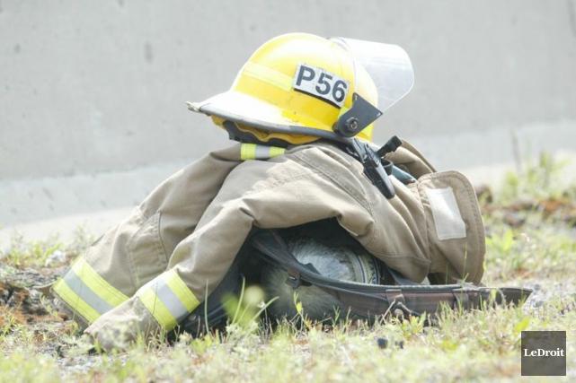 Une personne a été blessée après qu'un incendie se soit déclenché dans la... (Archives, LeDroit)