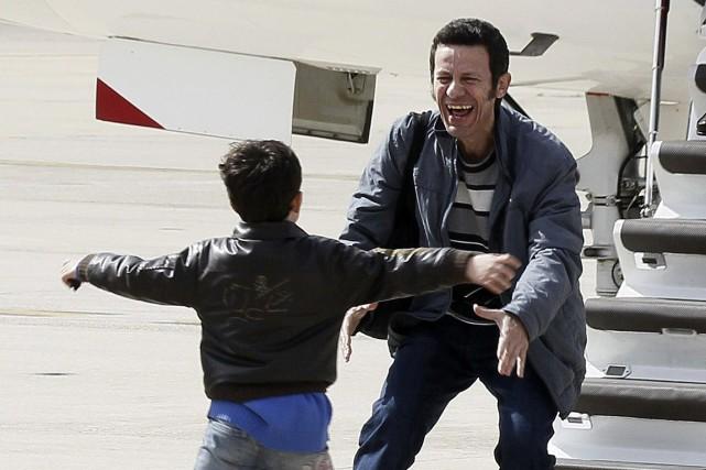 Lejournaliste espagnol Javier Espinosa a retrouvé son fils... (PHOTO PACO CAMPOS, ARCHIVES AGENCE FRANCE PRESSE)